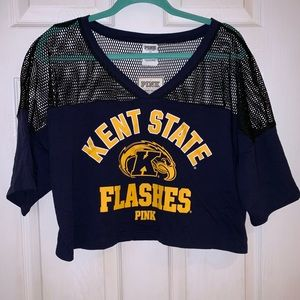 PINK Kent State Flashes Crop Top - NWT